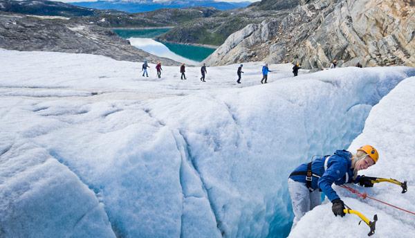 Folgefonni Glacier Team