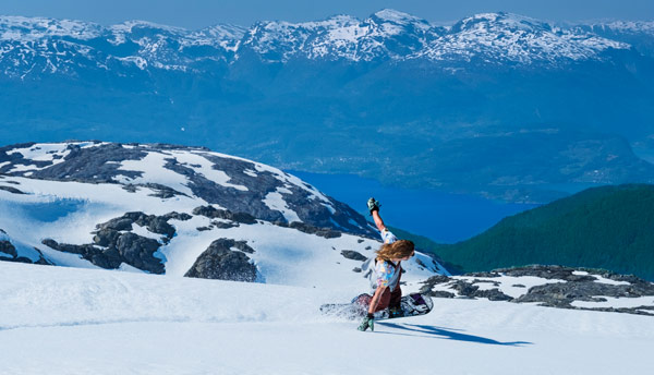 FONNA Glacier Ski Resort, summer ski