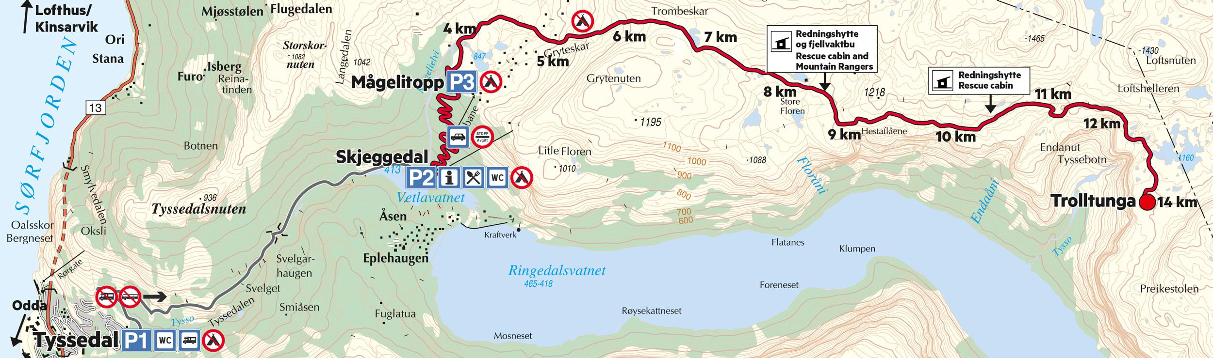 【北歐景點】挪威惡魔之舌 Trolltunga — 28公里健行挑戰全攻略 168
