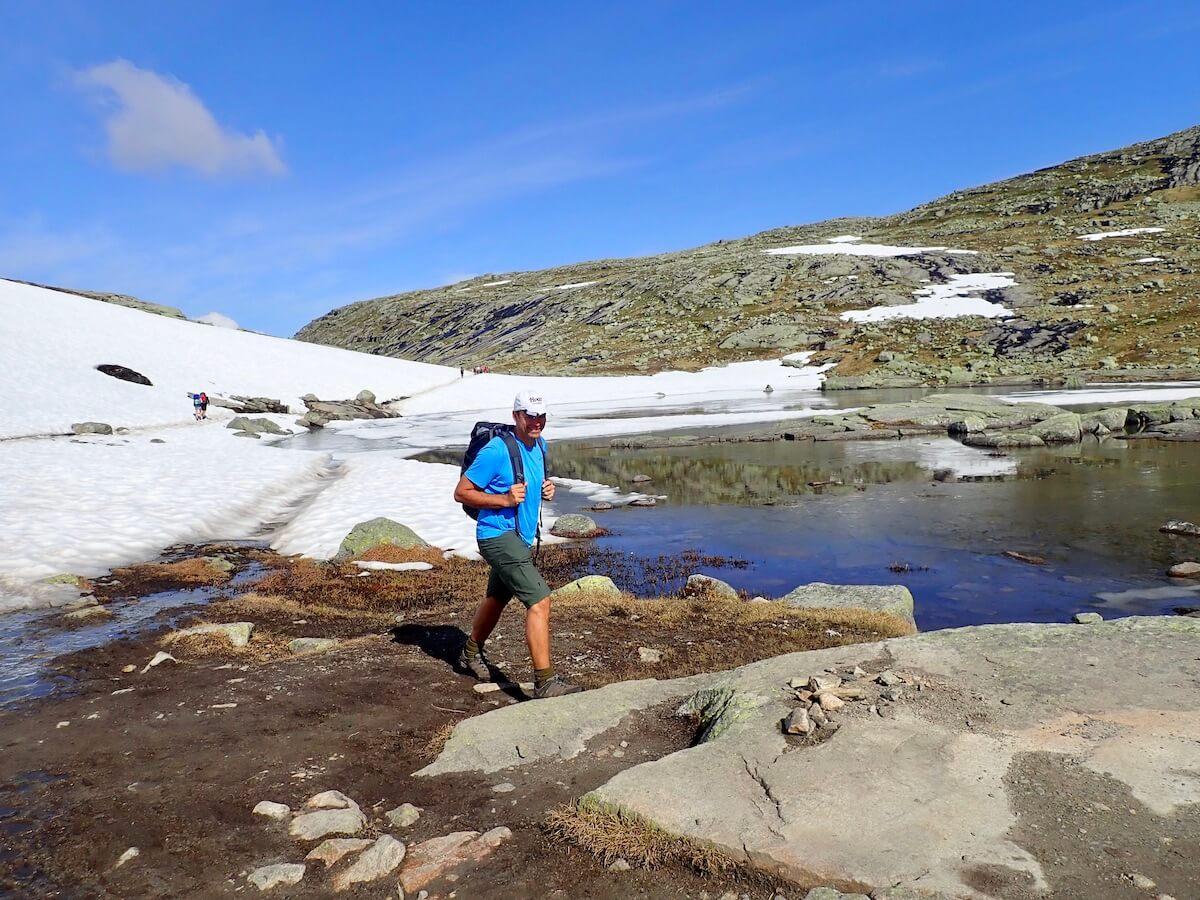 Snow at Trolltunga-Aase Marie Evjen